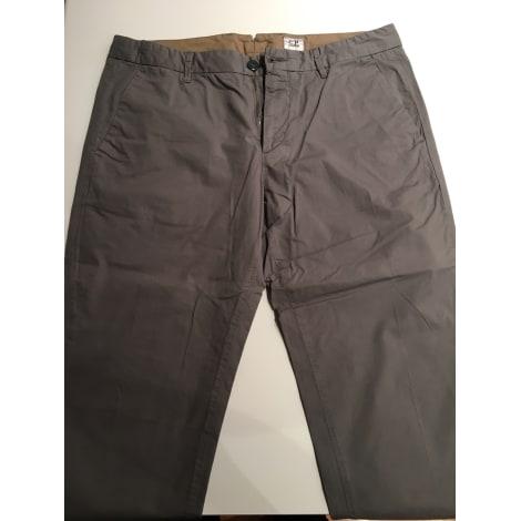 Pantalon droit CP COMPANY Gris, anthracite