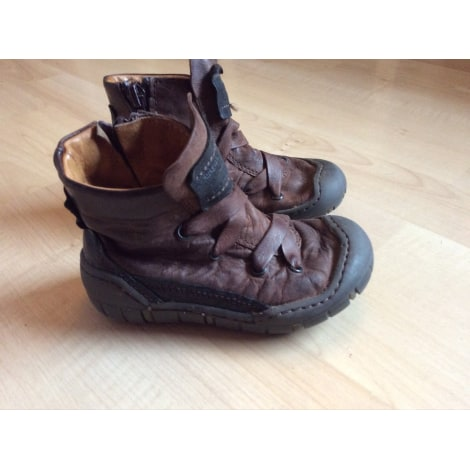 Bottines IKKS Marron