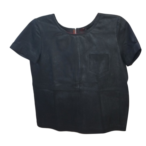 Top, tee-shirt MAJE Noir