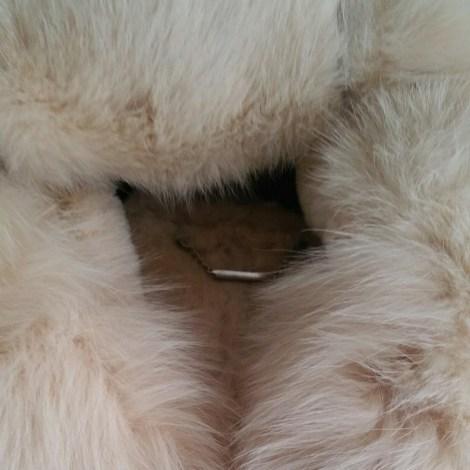 Veste en cuir INTUITION Beige, camel