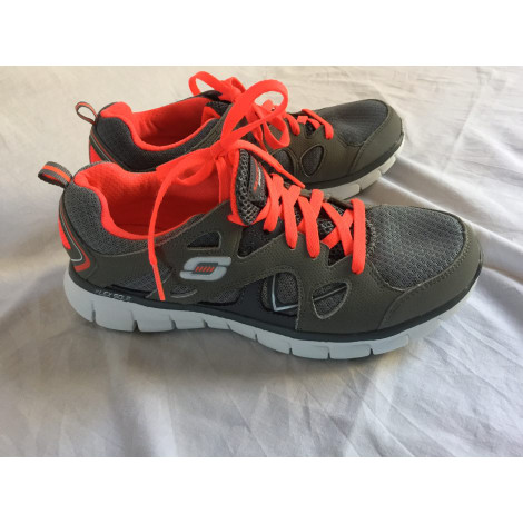 Chaussures de sport SKECHERS Gris, anthracite