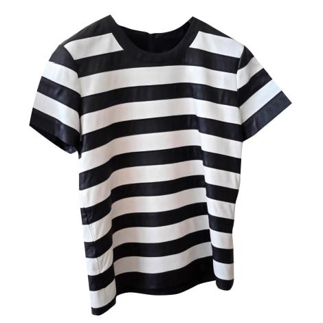 Top, tee-shirt THEORY Blanc, blanc cassé, écru