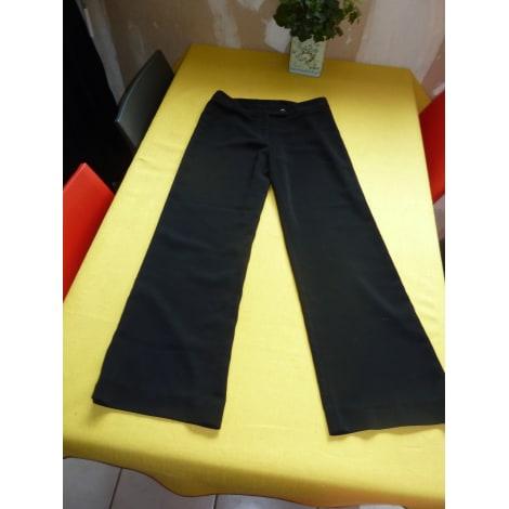 Pantalon large CAROLL Noir
