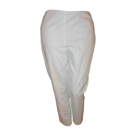 Pantalon droit RALPH LAUREN blanc