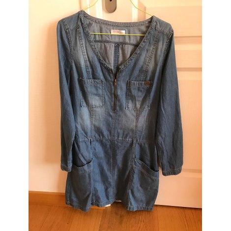Robe en jeans CACHE CACHE Bleu, bleu marine, bleu turquoise