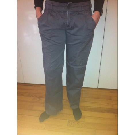 Pantalon large ONE STEP Gris, anthracite