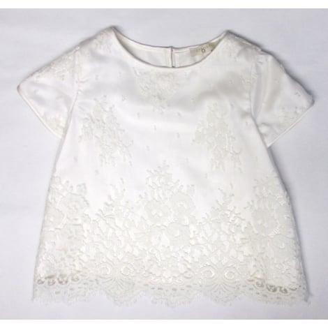Top, Tee-shirt OVALE Blanc, blanc cassé, écru