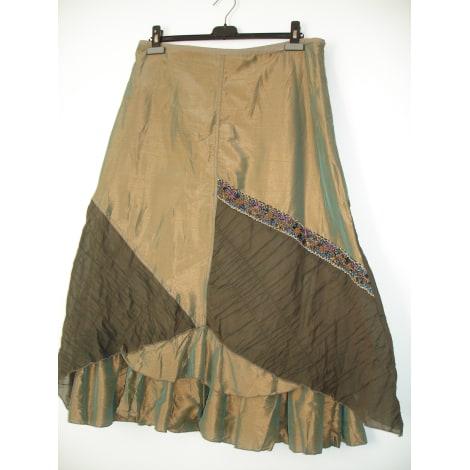 Tailleur jupe EVALINKA Doré, bronze, cuivre