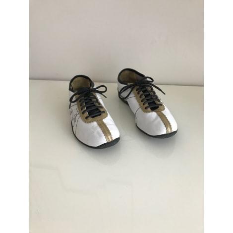Chaussures de sport LE COQ SPORTIF blanc mordoré et noir