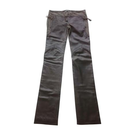 Pantalon droit JUST CAVALLI Noir