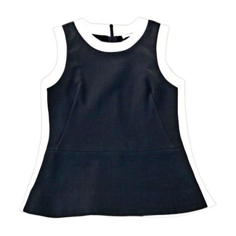 Top, tee-shirt VICTORIA BECKHAM Bleu, bleu marine, bleu turquoise