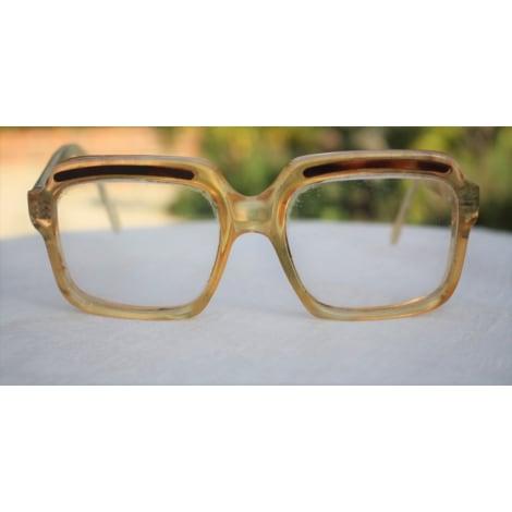Monture de lunettes TED LAPIDUS Doré, bronze, cuivre