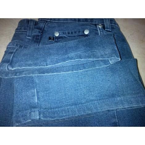 Pantalon large TRUSSARDI JEANS Bleu, bleu marine, bleu turquoise