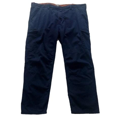 Pantalon droit TIMBERLAND Bleu, bleu marine, bleu turquoise