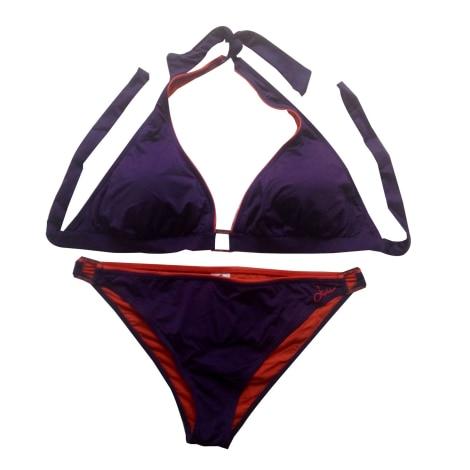 Maillot de bain deux-pièces LIVIA Violet, mauve, lavande