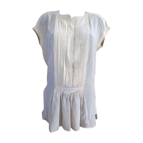 Robe tunique ISABEL MARANT ETOILE Blanc, blanc cassé, écru