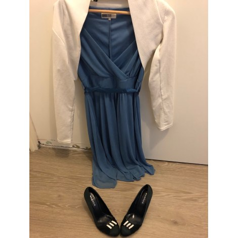 Robe mi-longue PIER ONE Bleu, bleu marine, bleu turquoise