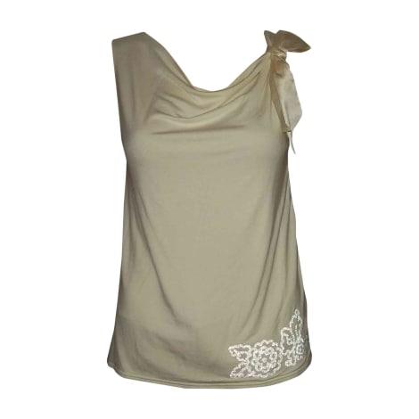 Top, tee-shirt DIOR Beige, camel