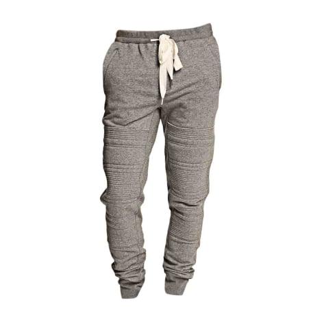Pantalon slim 3.1 PHILLIP LIM Gris, anthracite