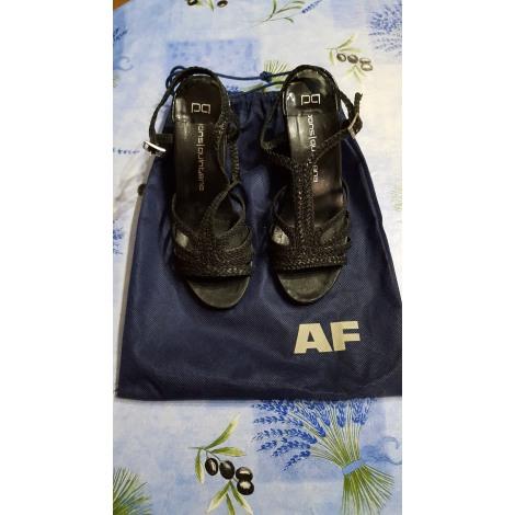 Sandales à talons PONS QUINTANA Noir