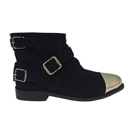 Stiefeletten, Ankle Boots BALMAIN X H&M Schwarz