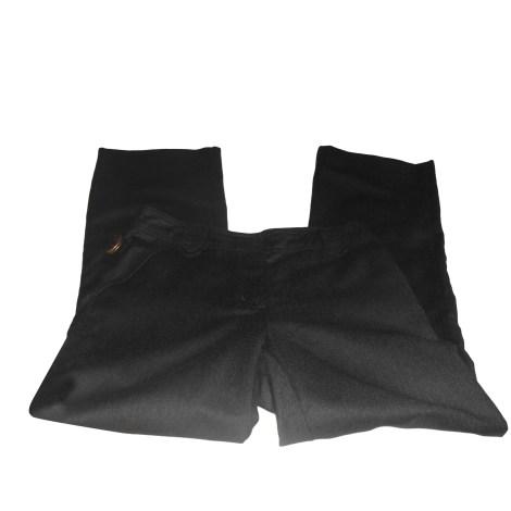 Pantalon droit ZADIG & VOLTAIRE Gris, anthracite