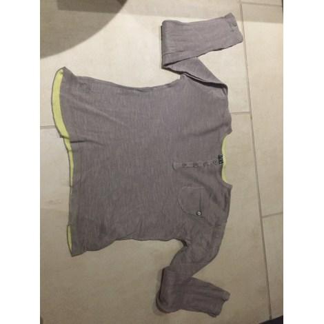 Tee-shirt TAPE À L'OEIL Gris, anthracite