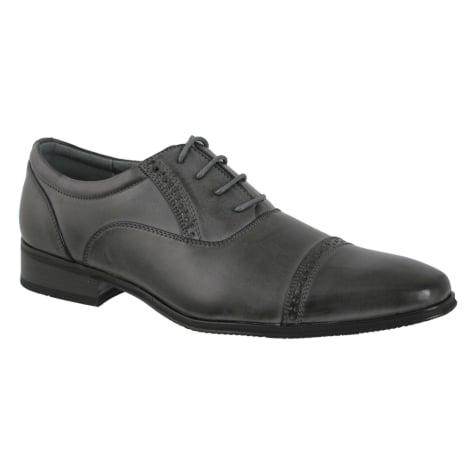 Lace Up Shoes DAZAWA Gray, charcoal