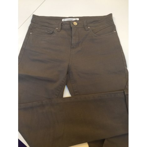 Jeans droit SUD EXPRESS Marron