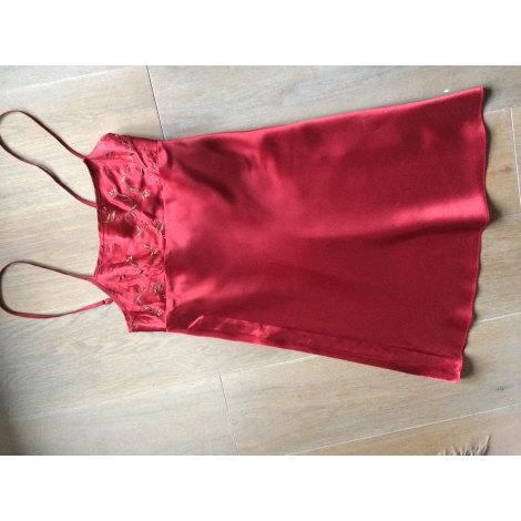 Ensemble, parure lingerie ETAM LINGERIE Rouge, bordeaux