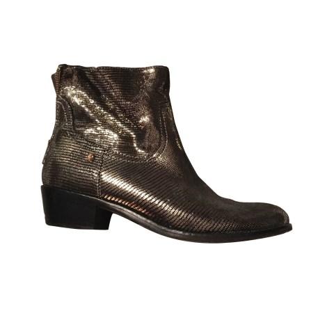 Santiags, bottes cowboy ZADIG & VOLTAIRE Doré, bronze, cuivre