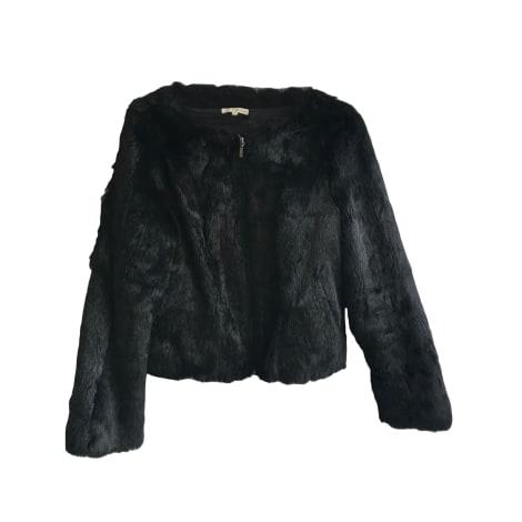 Blouson, veste en fourrure BA&SH Noir