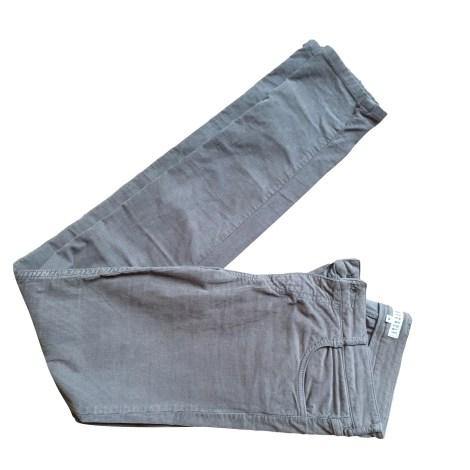Pantalon slim, cigarette CLAUDIE PIERLOT Kaki