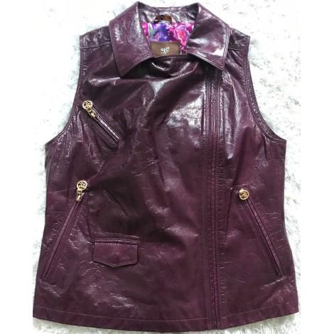 Top, tee-shirt PIERO GUIDI Violet, mauve, lavande
