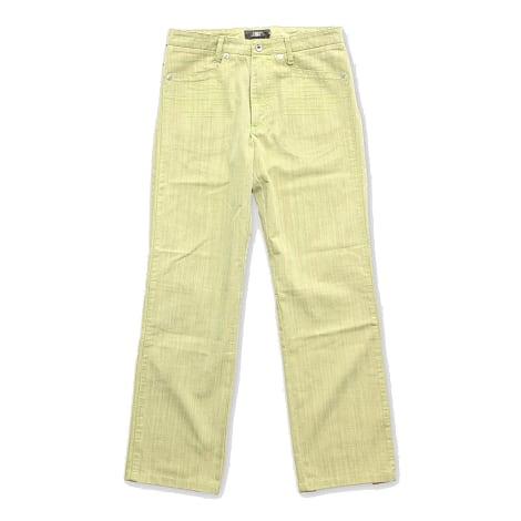 Jeans droit NEW MAN Vert