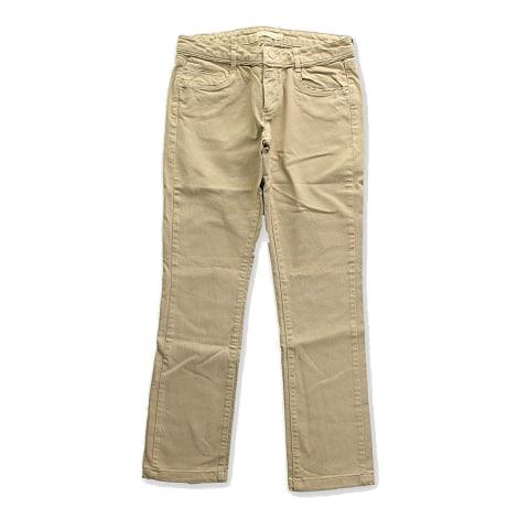 Jeans droit SUD EXPRESS Beige, camel