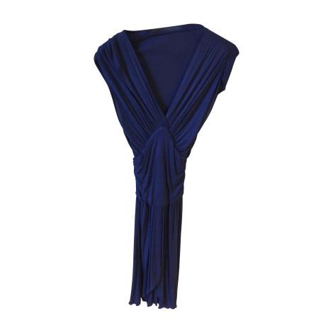 Robe courte PRADA Bleu, bleu marine, bleu turquoise