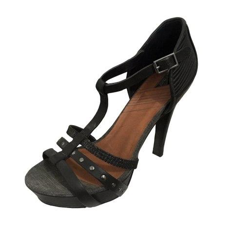 Sandales compensées DIESEL Gris, anthracite