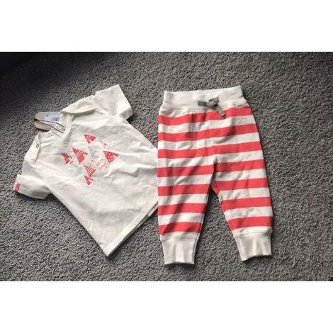 Ensemble & Combinaison pantalon JEAN BOURGET Blanc, blanc cassé, écru