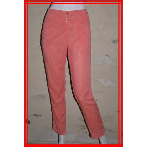 Pantalon droit COP-COPINE Orange
