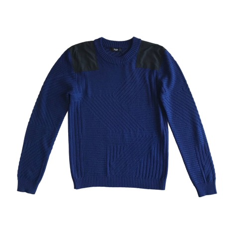 Pull VERSUS VERSACE Bleu, bleu marine, bleu turquoise