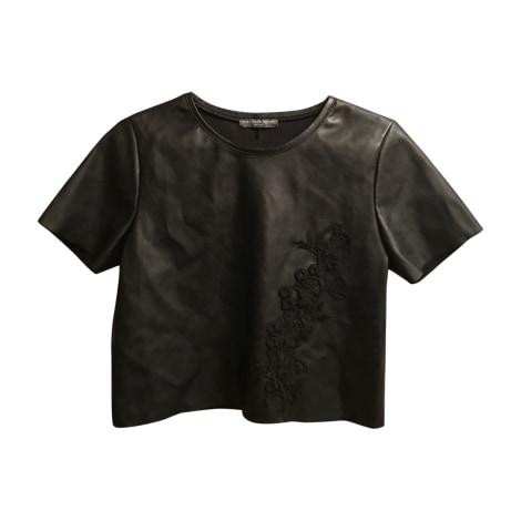 Top, tee-shirt ALEXANDER MCQUEEN Noir