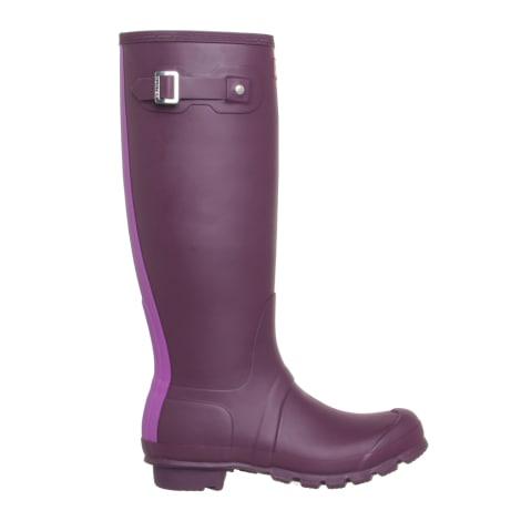 Bottes de pluie HUNTER Violet, mauve, lavande