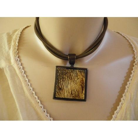 Parure bijoux LA TRIBU RIGAUX Doré, bronze, cuivre