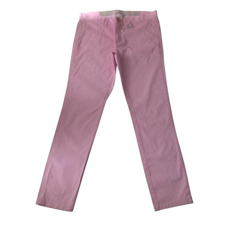 Pantalon droit MARELLA Rose, fuschia, vieux rose