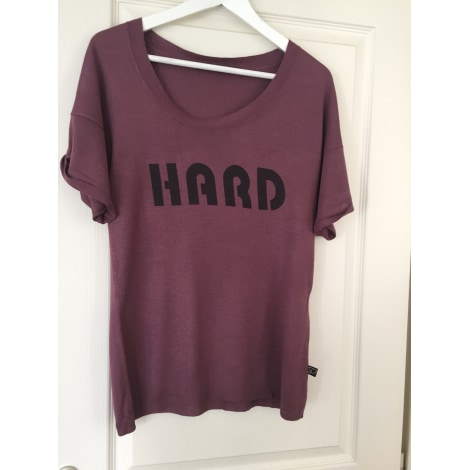 Top, tee-shirt I LOVE MY T'S Violet, mauve, lavande
