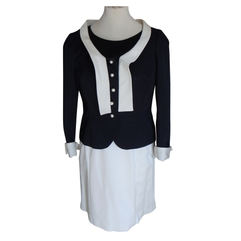 Tailleur robe WEILL Blanc, blanc cassé, écru