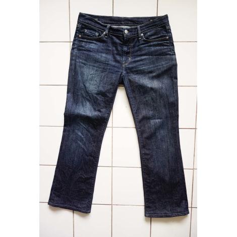 Jeans droit CITIZENS OF HUMANITY Bleu, bleu marine, bleu turquoise