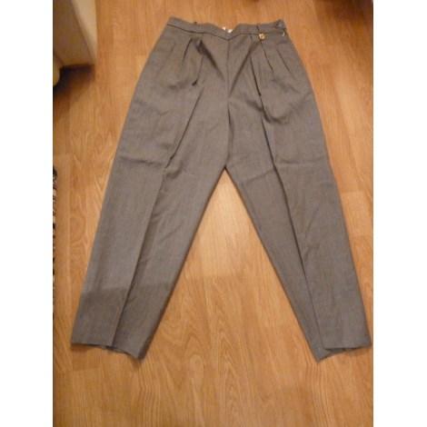 Pantalon large GIVENCHY Gris, anthracite