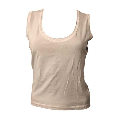 Top, tee-shirt JEAN PAUL GAULTIER Blanc, blanc cassé, écru